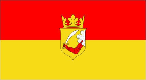 Bosnien, Flagge 1878 - 1908