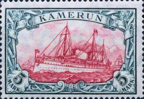 Kamerun 5 Mark, 1919