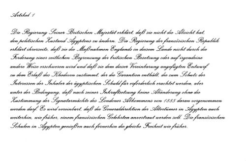 Vertrag vom 8. April 1904