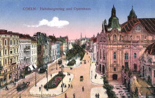 Köln, Habsburgring und Opernhaus
