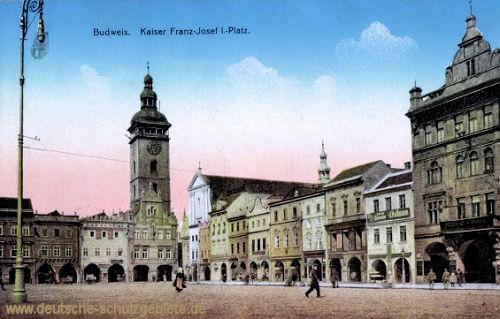 Budweis, Kaiser Franz-Josef I.-Platz