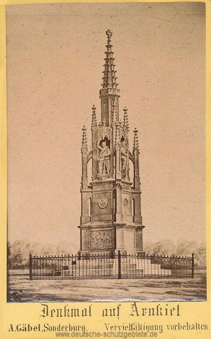 Denkmal auf Arnkiel