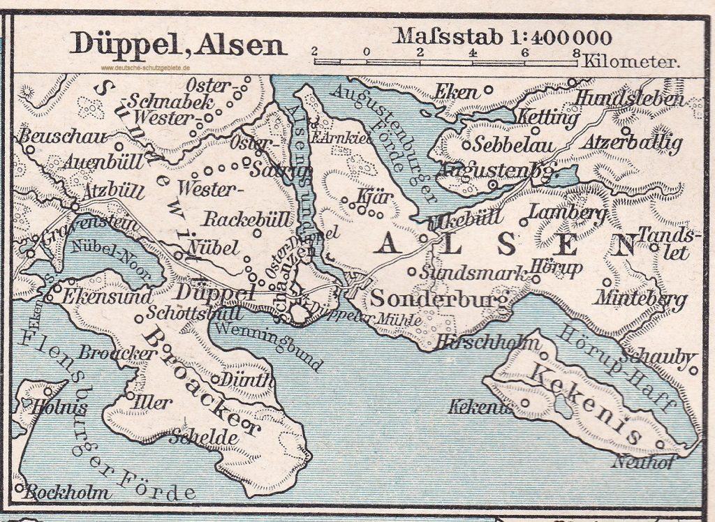Düppel, Alsen 1864
