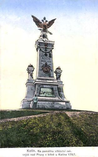 Kolin, Denkmal an die Schlacht von 1757
