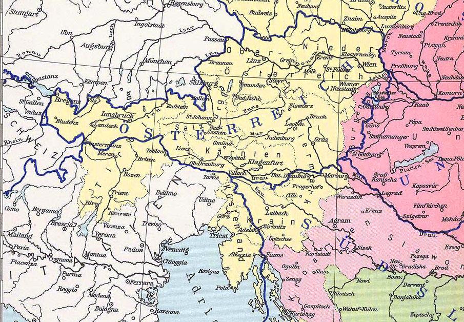Österreich nach dem Ersten Weltkrieg 1919