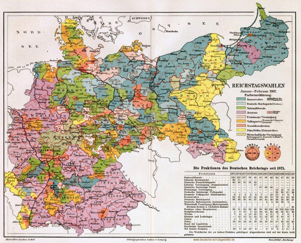 Reichstagswahlen Januar - Februar 1907