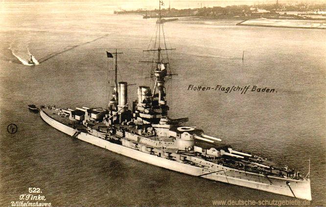 S.M.S. Baden Flotten-Flaggschiff