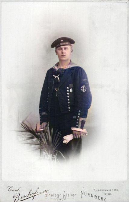 S.M.S. Frithjof Besatzungsmitglied
