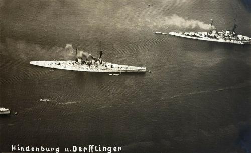 S.M.S. Hindenburg und S.M.S. Derfflinger