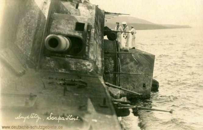 S.M.S. Seydlitz gekentert in Scapa Flow 1919