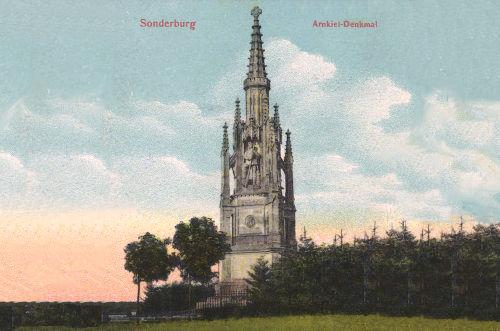 Sonderburg. Arnkiel-Denkmal