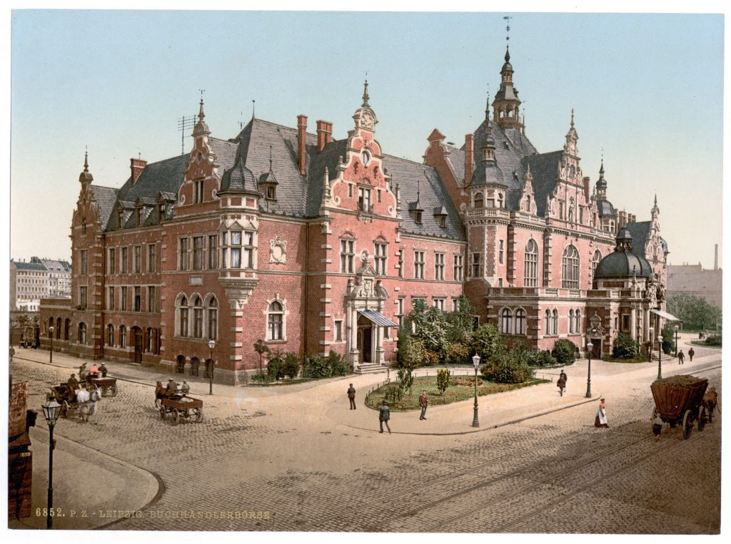 Leipzig. Buchhändlerbörse.
