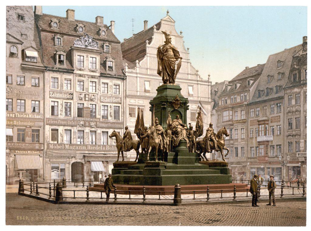 Leipzig. Siegesdenkmal.