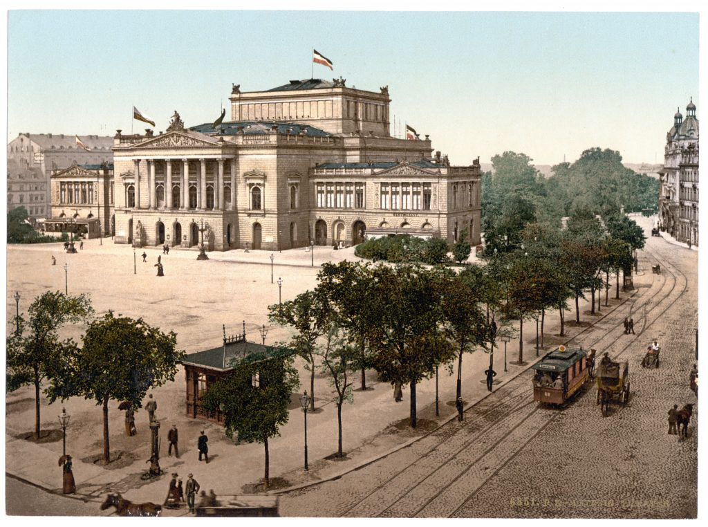 Leipzig. Theater.