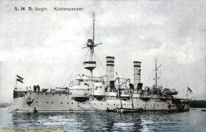 S.M.S. Aegir, Küstenpanzer