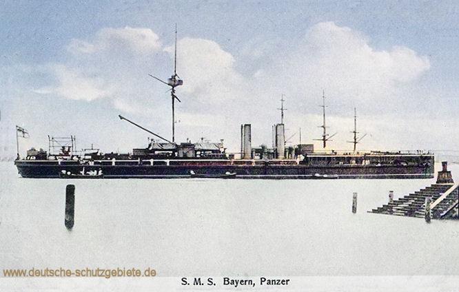 S.M.S. Bayern, Panzer