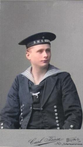 S.M.S. Hertha Besatzungsmitglied