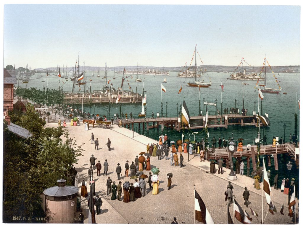 Kiel. Der Hafen. II.