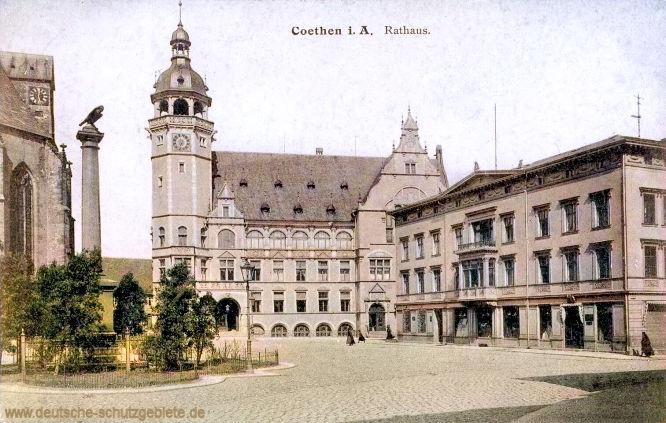 Köthen i. A. Rathaus